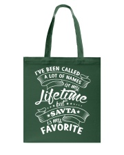 SAVTA is my favorite name Tote Bag thumbnail