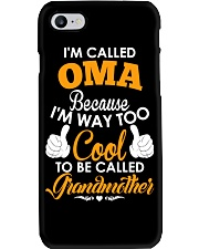 I'm Called Oma Because I'm Way Too Cool To Be Phone Case thumbnail