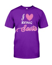 I  LOVE BEING SAVTA Classic T-Shirt front