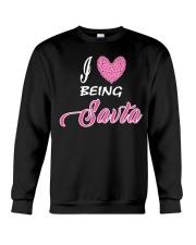 I  LOVE BEING SAVTA Crewneck Sweatshirt thumbnail