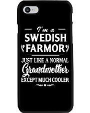 I'm A Swedish Farmor - Much Cooler Phone Case thumbnail