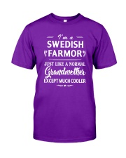 I'm A Swedish Farmor - Much Cooler Classic T-Shirt front