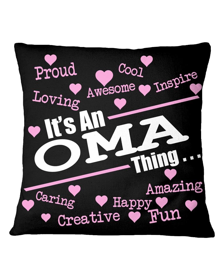 Oma thing Square Pillowcase