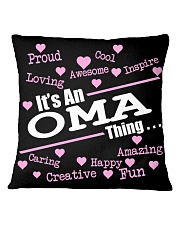 Oma thing Square Pillowcase front