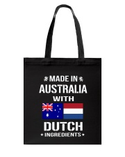 Made In Australia With Dutch Ingredients Tote Bag thumbnail