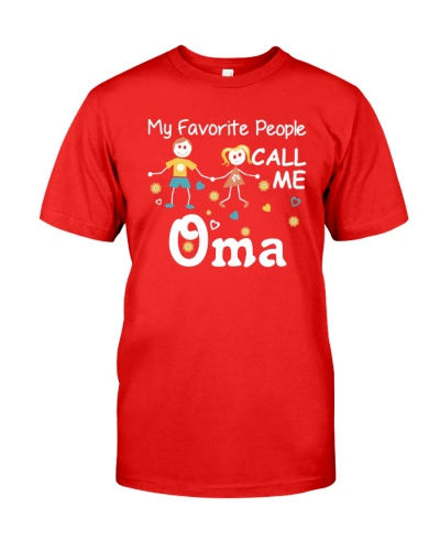 MY FAVORITE PEOPLE CALL ME OMA