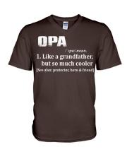 Opa - much cooler V-Neck T-Shirt thumbnail