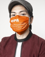 Opa - much cooler 2 Layer Face Mask - Single aos-face-mask-2-layers-lifestyle-front-08