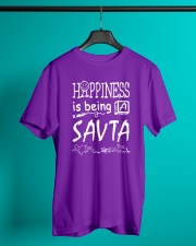 Happiness is being a SAVTA Classic T-Shirt lifestyle-mens-crewneck-front-3