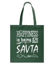 Happiness is being a SAVTA Tote Bag tile