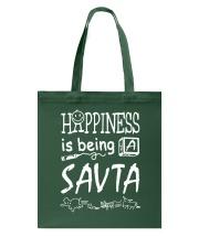 Happiness is being a SAVTA Tote Bag thumbnail