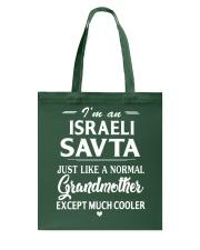 I'm an Israeli SAV-TA Much cooler Tote Bag thumbnail