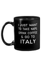 Just want to go to Italy Mug back