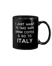 Just want to go to Italy Mug front