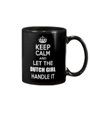 KEEP CALM and let the Dutch girl handle it Mug thumbnail