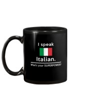 I speak Italian what is your Superpower Mug back