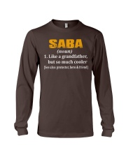 SABA noun - Much cooler Long Sleeve Tee thumbnail