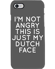 I'm not angry this is just my Dutch face Phone Case thumbnail
