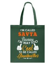 I'm way too cool to be Grandmother Tote Bag thumbnail