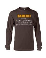 Farfar - noun - much cooler - hero Long Sleeve Tee thumbnail