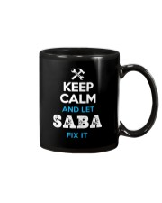 Keep calm and let SABA fix it Mug thumbnail