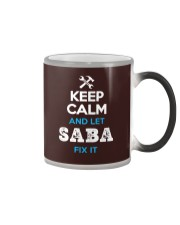 Keep calm and let SABA fix it Color Changing Mug thumbnail