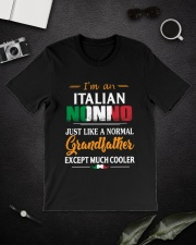 I'm An Italian Nonno - Much Cooler 2 Classic T-Shirt lifestyle-mens-crewneck-front-16