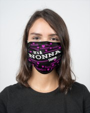 Nonna thing 2 Layer Face Mask - Single aos-face-mask-2-layers-lifestyle-front-16
