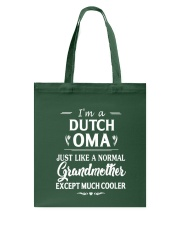 OMA - MUCH COOLER - Tulip Tote Bag thumbnail