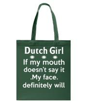 Dutch girl Tote Bag thumbnail