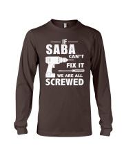 Saba can fix it Long Sleeve Tee thumbnail