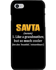 SAVTA - NOUN Phone Case tile