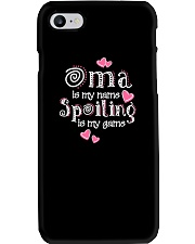 Oma is my name spoiling is my game Phone Case thumbnail