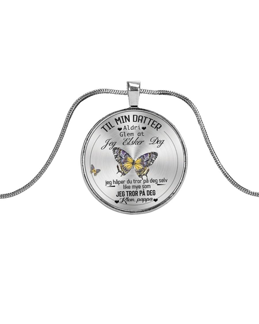 TILL MIN DOTTER Metallic Circle Necklace