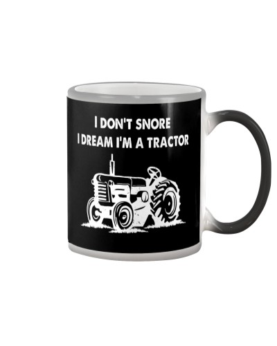 I DREAM IM A TRACTOR FRONT