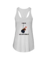 I CAME IN LIKE A BUTTERBALL T-SHIRT Ladies Flowy Tank thumbnail