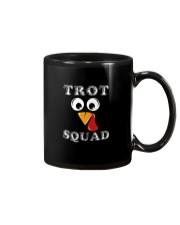 TURKEY TROT SQUAD THANKSGIVING TURKEY SHIRT Mug thumbnail