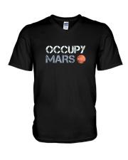OCCUPY MARS T SHIRT V-Neck T-Shirt thumbnail