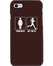 RUNNING - YOUR WIFE - MY WIFE T SHIRTS Phone Case thumbnail