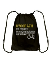 I'm a Cycopath T-Shirt Drawstring Bag tile