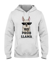 No Prob-Llama T-Shirt Hooded Sweatshirt thumbnail