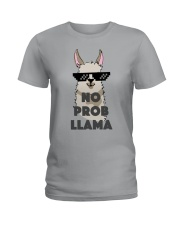No Prob-Llama T-Shirt Ladies T-Shirt thumbnail