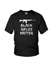 Black Rifles Matter Shirt Youth T-Shirt thumbnail