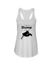 FUNNY ANTI-TRUMP DUMP TRUMP POLITICAL SHIRT Ladies Flowy Tank thumbnail