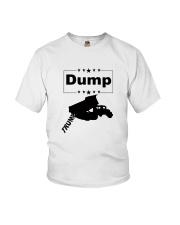 FUNNY ANTI-TRUMP DUMP TRUMP POLITICAL SHIRT Youth T-Shirt thumbnail