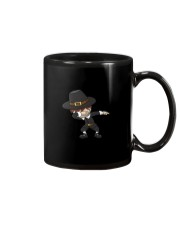 DABBING PILGRIM AND DABBING TURKEY T-SHIRT Mug thumbnail