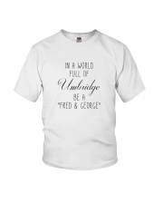 IN A WORLD FULL OF UMBRIDGE BE A SHIRT Youth T-Shirt thumbnail