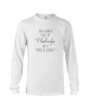 IN A WORLD FULL OF UMBRIDGE BE A SHIRT Long Sleeve Tee thumbnail