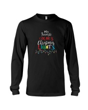My Favorite Color Is Christmas Lights T-Shirt Long Sleeve Tee thumbnail