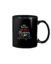 My Favorite Color Is Christmas Lights T-Shirt Mug thumbnail